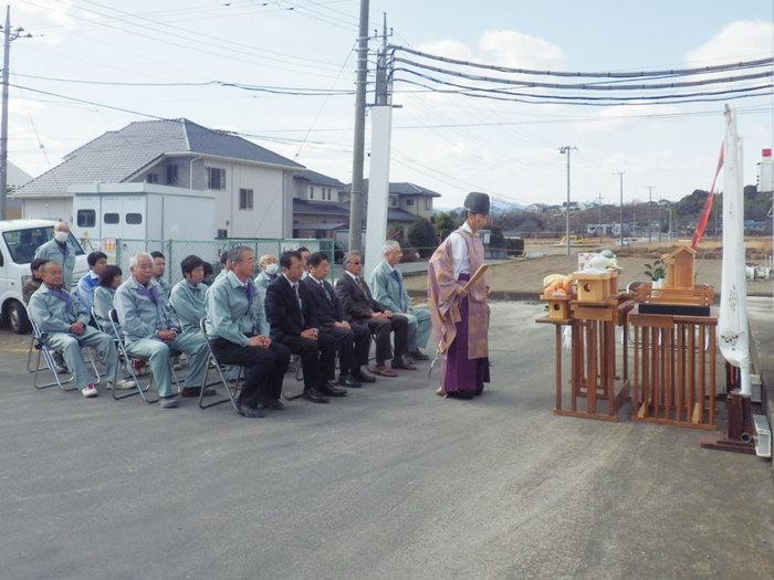 箕郷工場安全祈願祭
